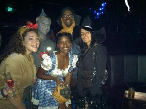Halloween group shot