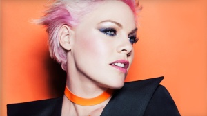 Meet my new girl crush: Pink. (Photo credit: Cover Girl)