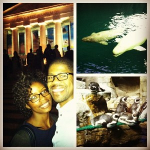 Date night at the aquarium...